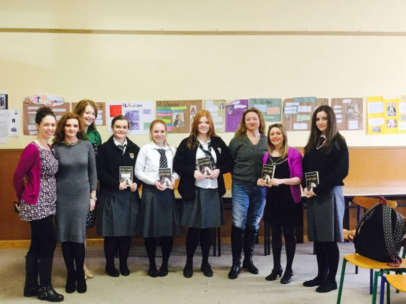 Award Winning Author Visits Newbridge College