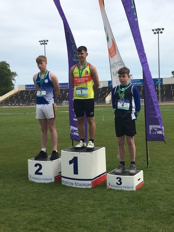 Athletics: Leinster Track and Field Championships