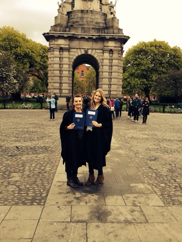 Prestigious TCD Scholarship Award for 2 Past Pupils