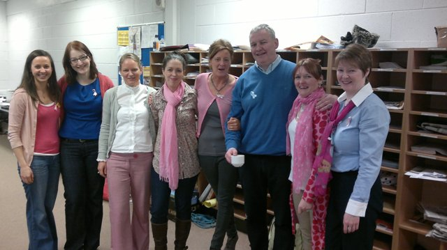 Staff in Pink or Blue!